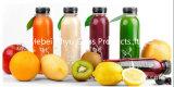 식품 포장을%s 나사 모자 애완 동물 음료 식용수 병을%s 가진 착색된 주스 플라스틱 병