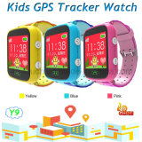 GPS van jonge geitjes het Horloge van de Drijver met 1.44 verplaatst het Kleurrijke Scherm van de Aanraking Y9 centimeter voor centimeter