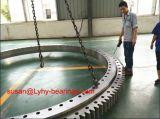 Boucles croisées de pivotement de rouleau avec les roulements externes de plaque tournante de la vitesse 9e-1z30-2435-0349-1