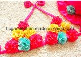 소녀의 꽃은 부속품 수영복, 레이스 사랑스러운 비키니 수영 착용을 인쇄했다