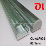 LED Aluminum Profile mit 60 Degree Beam Angle (ALP002)