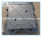 湿気の補強の鋳鉄のマンホールカバー