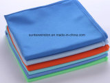 Полиэфира Microfiber полотенце 100% чистки