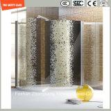 Alto vidrio de la impresión de investigación de Temeprature de cuatro colores para la ducha