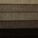 Tissu de plaine de capitonnage de Linien de polyester