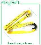Двойное Layer Lanyard с Satin с Customized Logo (LAG-LY-11)