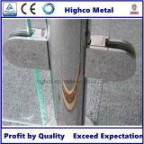 Morsetto di vetro rotondo centrale di D (10.76-12.76) per l'inferriata dell'acciaio inossidabile