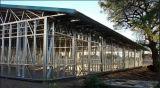 Exportação galvanizada do armazém da construção de aço a África