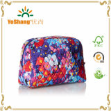 Vente en gros Cheap New Matière Quilting Pattern Travel Cosmetic Bag