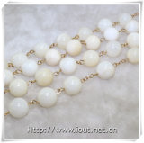 hagel Mary Cross Rosaries van de Parels van de Parel van 12mm de Ronde Shell (iO-Cr359)