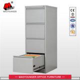 Gabinete de aço móveis de pintura por pó metálico usar arquivo vertical 4 Gavetas Armário para armazenamento de arquivamento