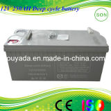 12V 250 AGM Gel Deep Cycle Lead Acid Storage Rechargeable Battery