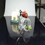 Mini tazza di tè di vetro della tazza di caffè della tazza di birra della tazza di vetro della birra con la maniglia