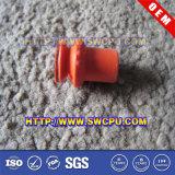 Отлитая в форму таможней плоская прозрачная крышка всасывания силикона/ясные высасыватели