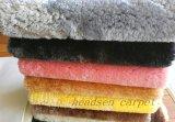 TPE 뒤를 가진 향상된 모조 모직 양탄자 매트 지역 양탄자