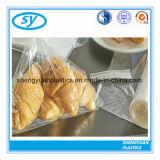 Sachet en plastique estampé par coutume claire de nourriture de LDPE