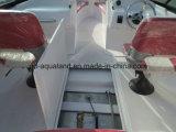 De Boot van de Snelheid van de Glasvezel van Aqualand 17feet/de Boot van de Motor Bowrider/Walkaround (170)