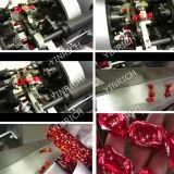 A alimentação automática do chocolate Dobro-Torce a máquina de envolvimento (PBS800)
