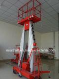 10m de altura de elevación de la plataforma de elevación de aleación de aluminio (SJYL)