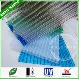 Strati di plastica di Sun del policarbonato del PC di prezzi dello strato della cavità della Gemellare-Parete del PC