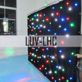RGBW LED Star Drop Gordijn