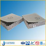 precio de fábrica de aluminio compuesto de fibra de vidrio núcleo panal.