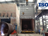 Tipo fornace di olio combustibile del carrello ferroviario di trattamento termico
