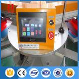 Forma redonda de la máquina de impresión automática de pantalla