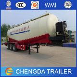 3Les essieux pétrolier 60tonne de ciment en vrac pour le Nigéria de remorque