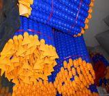 Abkühlendes Plastikrohr mit magnetischem Empfänger