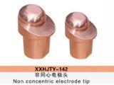Ponta de elétrodo não concêntrica (soldador do carro)