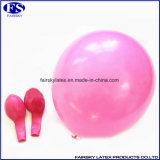 Helium gefüllt Runde Latex pinnk Ballon in Latex