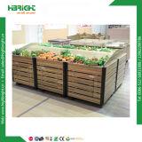 Cremagliera di visualizzazione delle frutta e delle verdure del supermercato