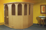 Stanza asciutta di sauna con il legno della Finlandia (M-6004)