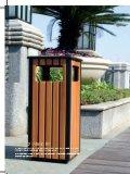 Рециркулирующ деревянную чонсервную банку мусорной корзины/отброса (DL 112)