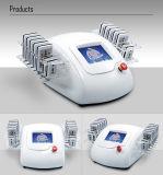Máquina de belleza láser Fuente de fábrica para adelgazar con Cryoliplysis Lipo Laser Cavitation RF