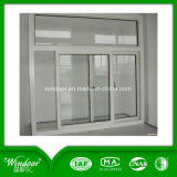 Окно фабрики застекленное двойником UPVC Китая