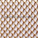 Провод катушки ячеистой сети из алюминиевого сплава драпировкой на металлические шторки