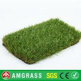 Profundamente - grama artificial do tênis verde, relvado artificial do relvado do campo de futebol