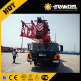 Marca idraulica Sany della parte superiore del sistema di controllo 5 aste delle sezioni gru Stc500 del camion di capienza di caricamento di 50 tonnellate sulla vendita