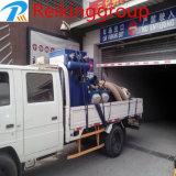 Matériel mobile automatique de nettoyage de sableuse d'injection d'étage