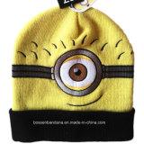 OEM農産物によってカスタマイズされるデザイン漫画のアクリルの冬によって編まれるジャカード帽子の帽子