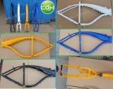Cdhのガスタンクフレーム、2.4Lガスタンクは自転車フレームを構築した