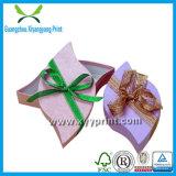 Rectángulo de joyería de encargo del papel de la alta calidad con la impresión de la insignia