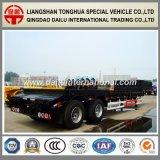 2 het Assen Verwijde Lage Bed van het Vervoer van het Graafwerktuig Fuwa/Semi Aanhangwagen Lowboy