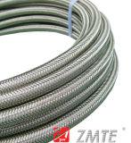 Tressé en acier inoxydable/en Téflon PTFE flexible de frein RACING Nylon / SAE 100R14