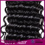 8A к категории бразильского Virgin волос 4 комплектов необработанные бразильские глубокую волны бразильский волосы вьются связки волнистых волос человека добавочный номер