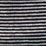 Lino de punto tela de la raya (QF14-1546-SS).
