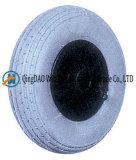 피마자 바퀴 (200*50)에 사용되는 압축 공기를 넣은 고무 바퀴