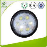 4.4 luz redonda del trabajo de la conducción de automóviles de la pulgada IP67 18W LED